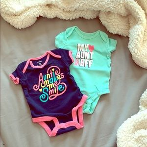 The Aunt onesie pack!